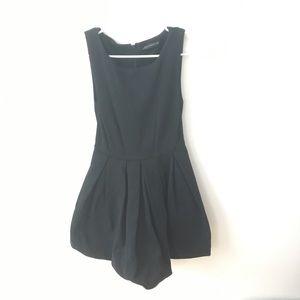 Zara Black Fit & Flare Dress